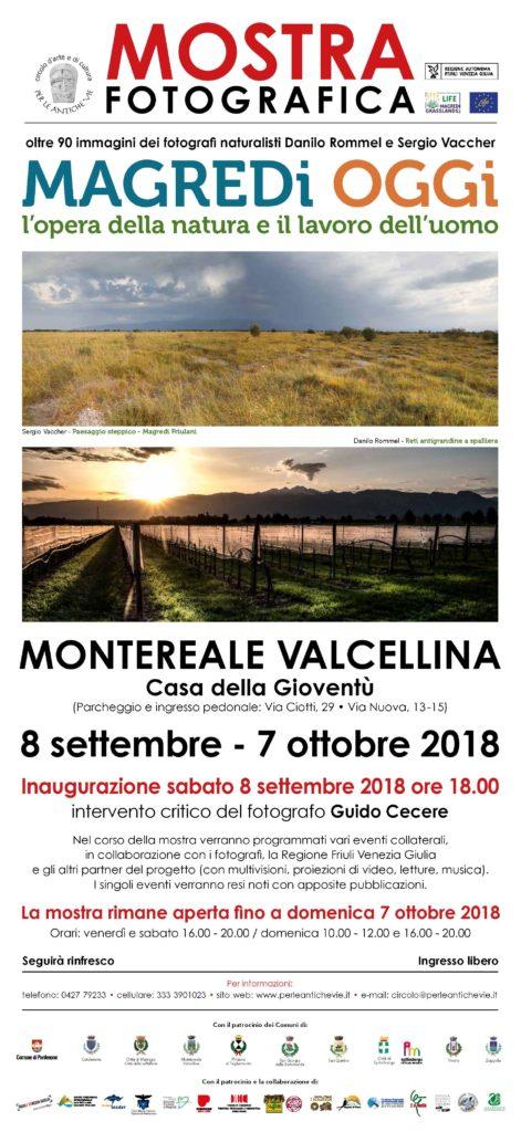 Locandina Mostra fotografica Magredi Oggi 4